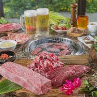 石垣島の秘宝「美崎牛」セットメニューでどうぞ。