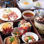 おまかせ三菜コース2,860円(税抜)コーヒー・デザート付き