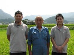 大分県玖珠産「農家の米」 生産者:武石氏