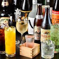 【日本酒&焼酎】 九州を代表する銘酒を各種ご用意しています
