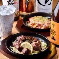 【熱っ!鉄板料理】 ジュージュー焼ける音が食欲を刺激する!