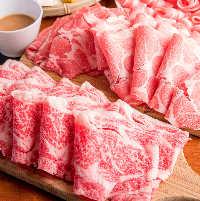 お肉は注文してからスライス♪とにかく新鮮!!