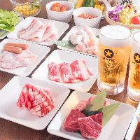 食べ放題は2480(税込2678円)より!