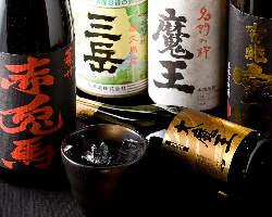 焼酎・日本酒も取り揃えて おります♪