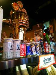 昭和レトロの雰囲気でちょい飲みなどもOK。