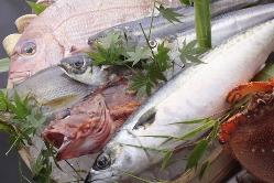 水揚げされたばかりの新鮮な魚を使用しております!