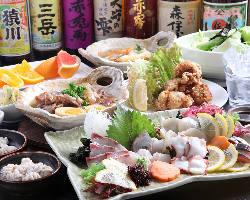 出張や観光にも♪新鮮な魚介もご用意しております