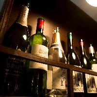 ワイン各種ご用意しております。