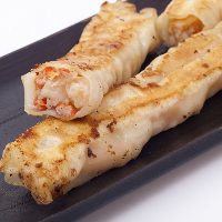 蟹と海老 贅沢ロング棒餃子