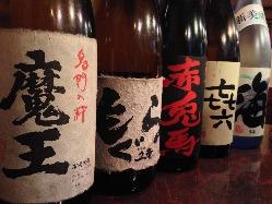 ■串焼きにはお酒!日本酒や焼酎、ビールご用意しています■
