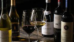 お肉のお供に自慢のワインを…マリアージュをお楽しみください