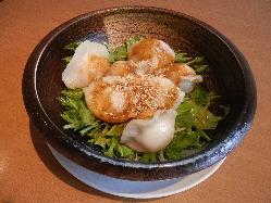 紅油水餃子7個(四川風水ギョーザ)