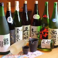 全国の日本酒や焼酎など各種取り揃えています
