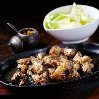 新鮮な宮崎産『地頭鶏(じとっこ)』の全部位が味わえます!