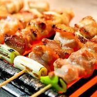 【辛味噌鶏鉄板】 ピリッと辛い味噌と鶏の旨みが合わさって◎