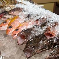 お魚が自慢!! 刺身、煮、焼、ご要望承ります♪
