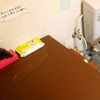 広々お手洗いには《おむつの交換スペース》も設けております!