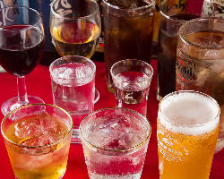 飲み放題は20種類以上!+料金でプレミアム日本酒もご注文OK!
