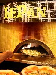 本格石窯で毎日焼いています!