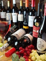 ワイン好きの皆さんぜひ!こだわりのワインをご用意♪