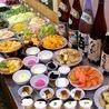 食べ放題やコース、ランチには充実のサラダ&デザートバー付!
