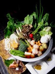 お野菜を中心としたメニューが豊富です♪