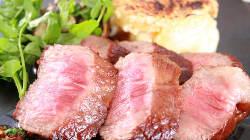 がっつりお肉もあります!黒毛和牛のステーキ~ジャポネソース~