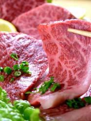 一頭の牛からわずかしか取れない良質で貴重なお肉。