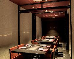 個室は最大20名様までOK!誕生日や記念日、接待にも最適です。