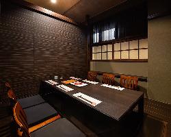 接待や会食、大切な時間をこの個室でお過ごし下さい。