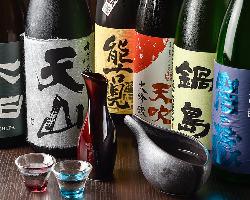 佐賀の地酒をごゆっくりお楽しみ下さい。