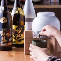 大人気の焼酎6種類飲み放題はなんと120分1,000円!