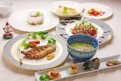 和洋創作料理のコースが自慢!!
