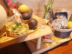 季節の旬な野菜や珍しい野菜を使用し、一味違う料理をご提供♪