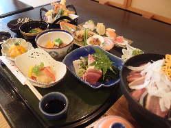 お祝い事や接待にも使える会席料理は3,000円♪