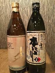 料理との相性◎焼酎や日本酒など、多彩なドリンクをご用意!