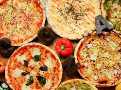 生地から全てお手製ピザ!熱々のうちに召し上がれ★