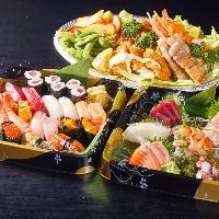 【出前】 お寿司・お刺身・オードブルをご用意しております
