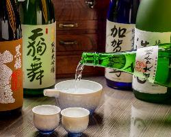 北陸の日本酒を中心に厳選