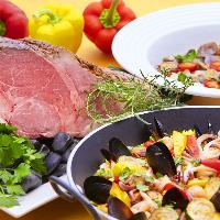 美味しいお料理を囲みながら楽しい時間をお過ごしください。