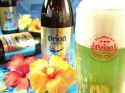もちろん沖縄と言えばのオリオン生ビールも!お酒好き大歓迎◎