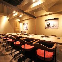 【VIPルーム】 完全個室で接待や外せない日のお食事をどうぞ