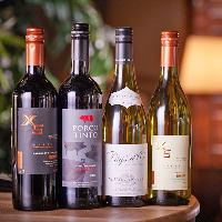 南北アメリカやヨーロッパなど世界のワインを取り揃えています!