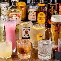 【ドリンク】 ハイボールにノンアルコールカクテルと種類豊富