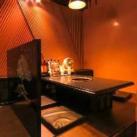 テーブル・お座敷、シーンに合わせてお選びいただけます。