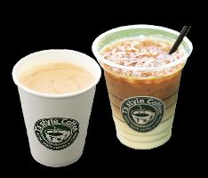 厳選されたコーヒー豆を使用!カフェ・ラテなどなど!