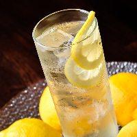 【レモンサワー】 果物の風味がたっぷりのサワーはおすすめ