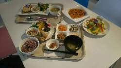 お野菜たっぷりケークサレ/お野菜たっぷりヘルシーランチが人気