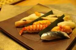 江戸前鮨をご堪能下さい。