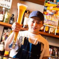 【ヤードビール】 思わず写真に撮りたくなるような1杯をご用意
